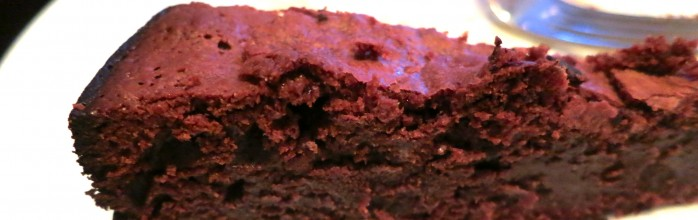 Chaud Cacao! Or the French and perfect Chocolate cake