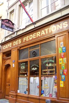 My favorite bouchon, le Café des fédérations