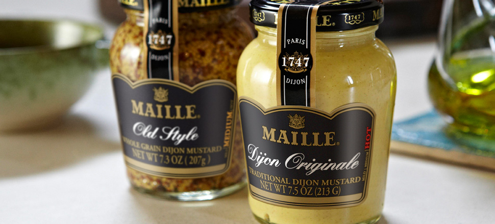 Maille mustard moutarde