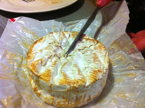 Camembert au lait cru, raw milk Normandy stinky  cheese