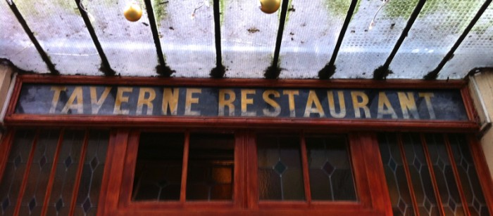 French restaurant Flo paris