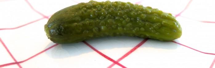 Don't be a cornichon ! Try pickle à la French!