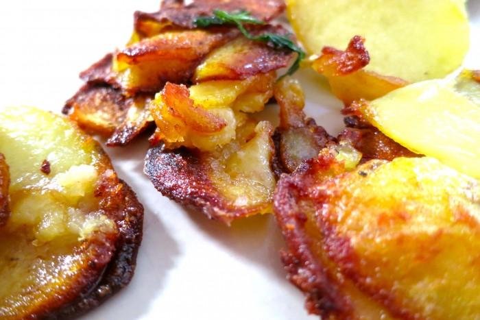 Patates sautées pommes de terre sarladaise