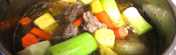 Get pot luck ! Cook POT AU FEU !
