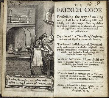 The French cook prescribing the way of making ready of all sorts
