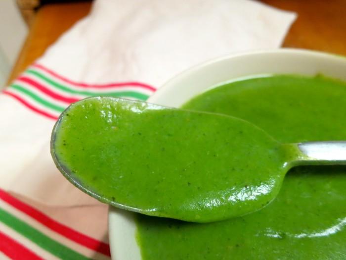 Soupe de cresson / Stinging nettle soup