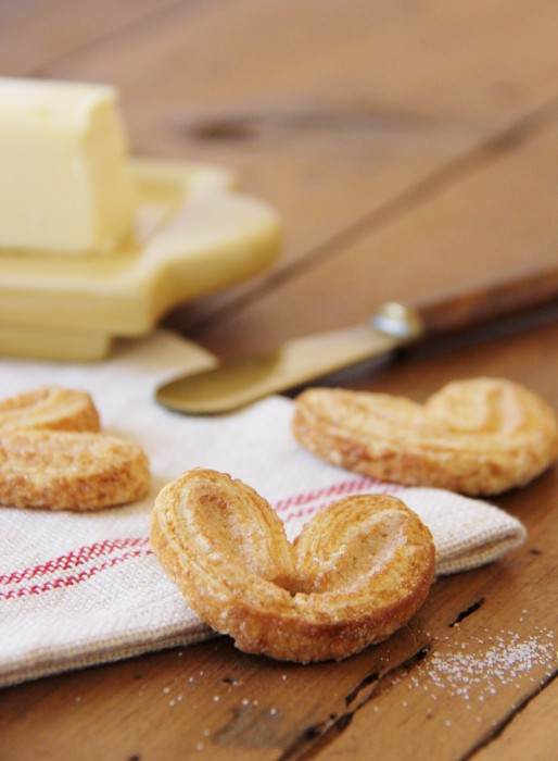 Palmiers - Butter Puff Pasty Cookies