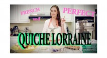 French and perfect QUICHE VIDEO