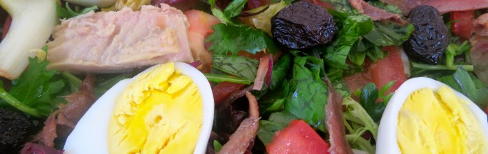 Be NICE to yourself! Make a NICOISE salad !