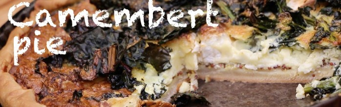 Kale and Camembert pie, a French and American story!