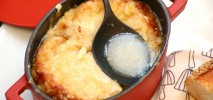 French onion soup, Soupe à l'oignon recipe
