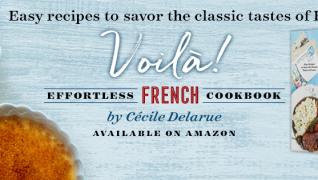 Voilà! New French Cookbook!